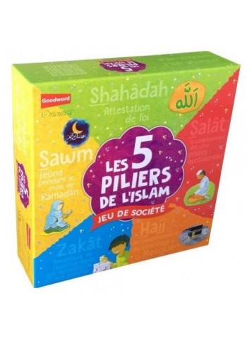 Les cinq (5) piliers de l'islam (Jeu de société 8 ans et plus)