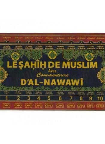 Le sahih de Muslim - 10 Volumes - DKI - livre de hadith