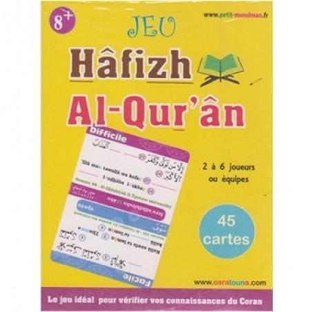 Jeu Hâfizh Al-Qur'ân (2 à 6 joueurs 8ans+) - 45 cartes