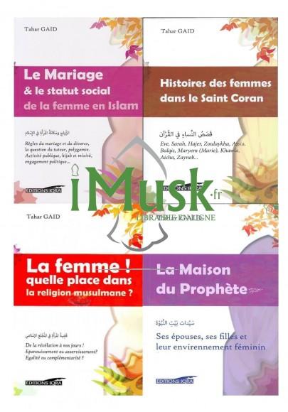 Pack 4 livres de la Collection : L'Islam & la femme, de Tahar Gaid