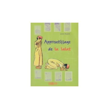 Apprentissage de la Salât Pour les Garçons (Livre illustré en couleur ou en noir et blanc au choix)