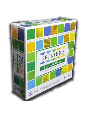 Jeu de société « 5 PILIERS - EDITION SIRA » (Age +10) Version Française