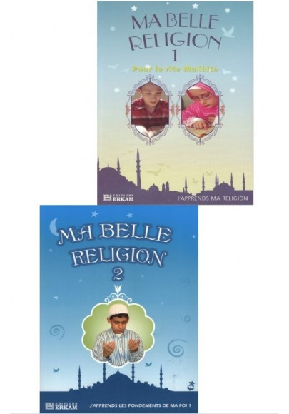 Pack enfants: Ma belle religion 1 & 2
