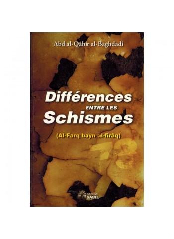 Differences entre les Schismes