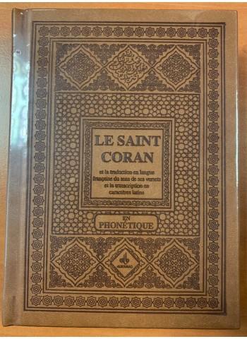 Saint Coran phonétique (ar-fr-ph) - (plusieurs coloris)