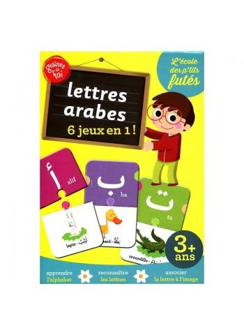 Lettres arabes - 6 jeux en 1