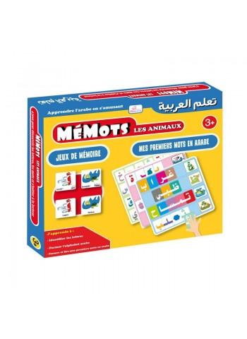 Mémots Les Animaux - Apprendre l'arabe en s'Amusant