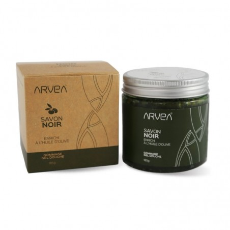 Savon Noir ( base d'huile d'olive bio - nettoie - hydrate - corps et visage)