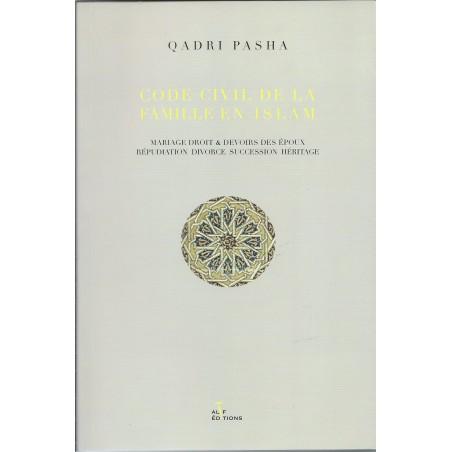 Code civil de famille en islam de Quadri Pasha