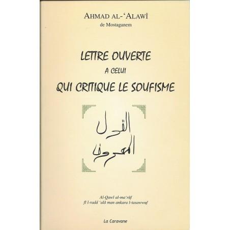 Lettre ouverte à celui qui critique le soufisme d'Ahmad al 'Alawî