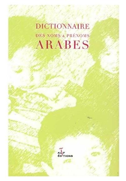 Dictionnaire des noms et prénoms arabes par A.Penot